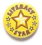 Literacy Star School Badge